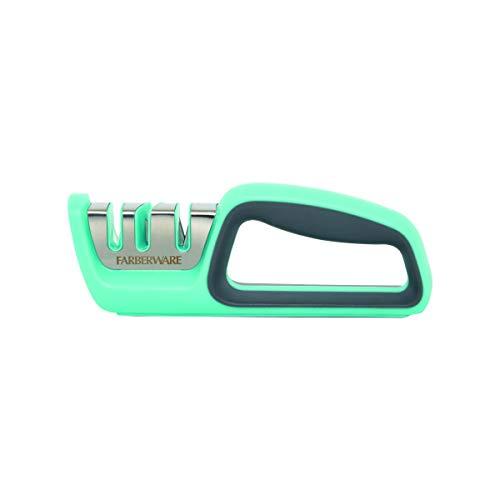Farberware Edgekeeper Afilador 2 etapas para Cuchillos serrados, plástico, Agua