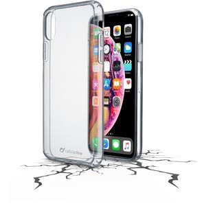 Cellularline Clear Duo - iPhone XS Max mit hohem Schutz, transparent