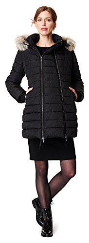 Noppies Damen Jacket Bella 70586 Umstandsjacke, Schwarz (Black C270), 46 (Herstellergröße: XXL)