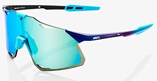 100% Hypercraft Sonnenbrille für Herren, Blau, Einheitsgröße