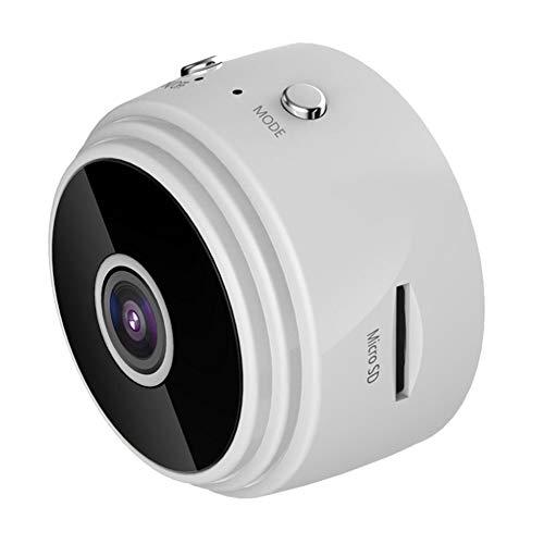 DEVELE Mini Cámara Oculta Microcámara Full HD de 1080P Cámara Y Cámara Web Remotas WiFi Detección de Movimiento Inteligente Seguridad Inalámbrica para El Hogar Notificaciones