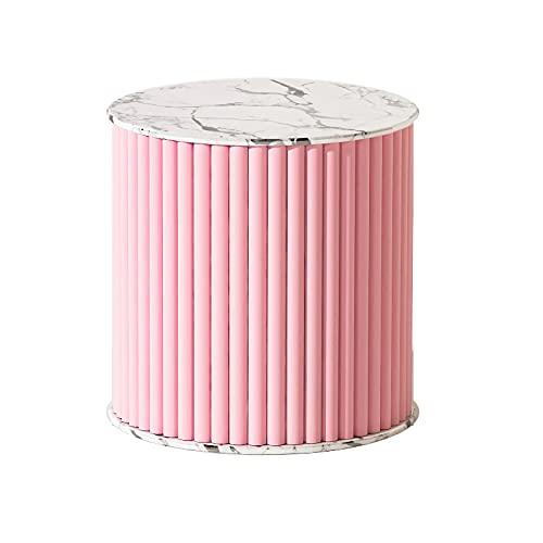DAGCOT Pantalla de Pantalla Colorida, Bolso de tacón de tacón Alto, Estante de exhibición, Papel de Almacenamiento de Cilindros de 14 x 16 Pulgadas para Tienda de Oficina de Oficina (Color : Pink)