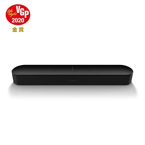 Sonos Beam コンパクトスマートTVサウンドバー Amazon Alexa搭載 ワイヤレスホームシアター 音楽ストリーミングサービス対応 ブラック