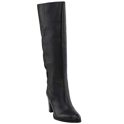 Frye Womens June Slouch Tall Dress Boots, Black, 9