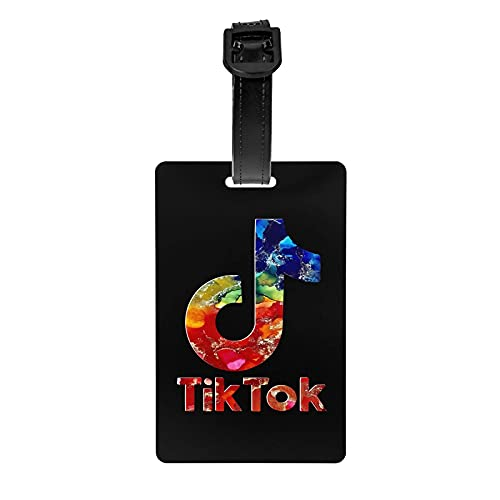TIKTOK Tourister Lage Tag   Etiquetas de bolsa Maleta Etiquetas Identificadores