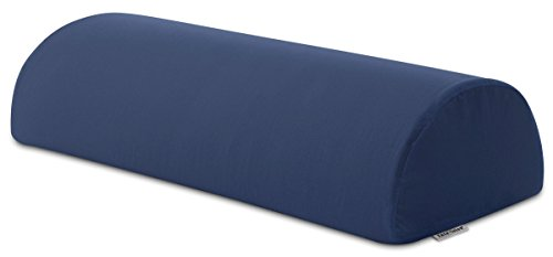 InteVision Four Position Support Pillow (20.5' x 8' x 4.5') with, 400 Thread Count, 100% Egyptian Cotton Cover