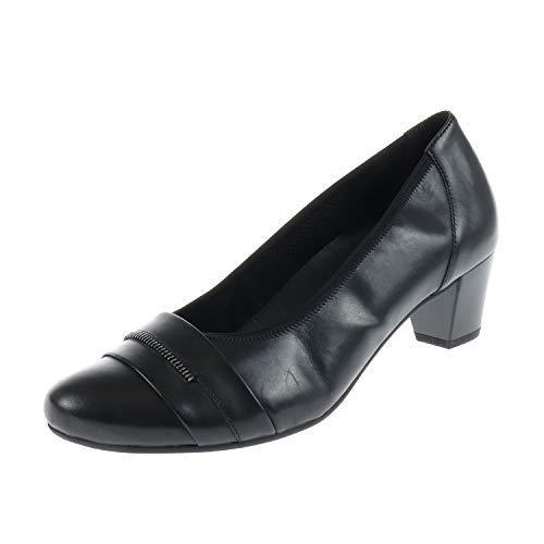 Gabor Damen Schuhe Absatz Schuh Pumps Foulardcalf Schwarz 3618367 (41 EU)