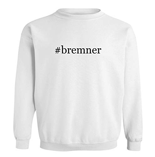 #bremner - Men's Soft & Comfortable Long Sleeve T-Shirt, White, XXX-Large