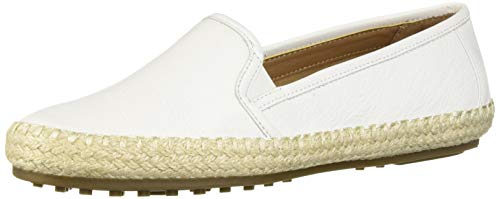 Aerosoles Women's Lets Driving Style Loafer, White Leather, 5.5 M US