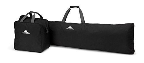 High Sierra Snowboard Sleeve & Boot Bag Combo, Black/Mercury