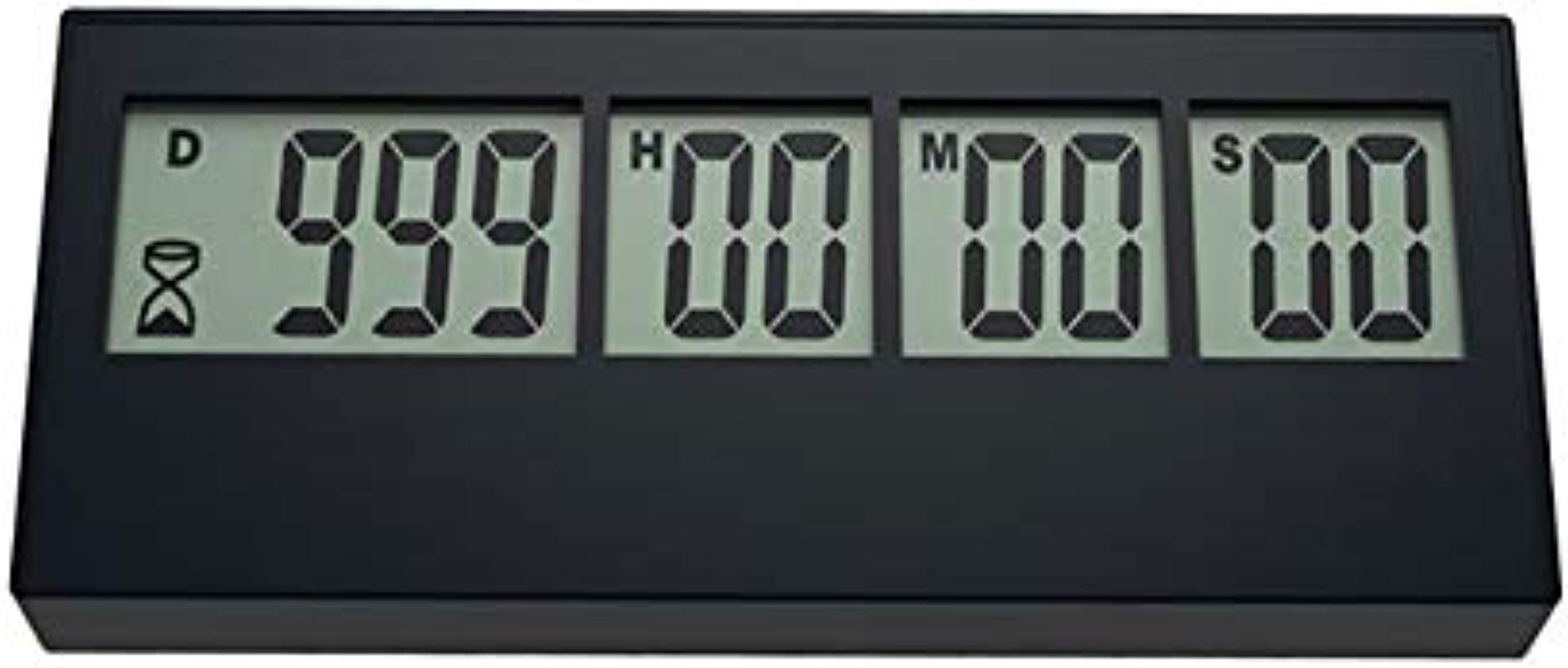 999 Day Countdown Timer QWM Digital Countdown Timer Long Time Countdown Function Can Be Used For Cooking Teacher Vacation Retirement Wedding Lab