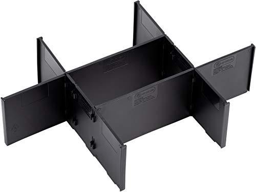 Connex Abteiler - Sechs einzelne Trennwände - Passend für Systembox Größe M - Zur individuellen Fachaufteilung - Optionales Zubehör / Organizer / Trennwand-Einsatz / COXT566206