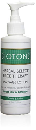 Biotone Herbal Select Massage Products Face Therapy Lotion, 6 Ounce, 6 Ounce