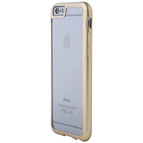 Ultratec Funda protectora híbrida para smartphone / carcasa con borde de TPU de color para iPhone 6...