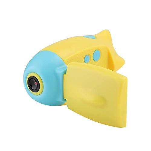 Mini-camera, 32G geheugenkaart uitbreiding en 2.0 TFT-scherm voor kinderen, U-boot-vormige HD 1080p kinderdigitale camera, blauw
