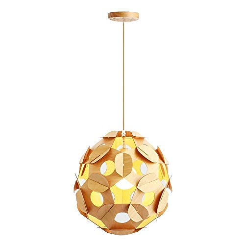Durable Exquisite Nordic Creative Personality Single Head Chandelier European And American Country Style Log Pine Cone Chandelier Hanging Light Simple Modern Bedroom Dining Room Living Room Lamp E27/E