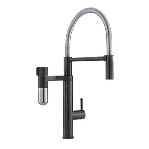 Franke 120.0551.242 Grifo de Cocina con Sistema de filtración de Agua, Noir...