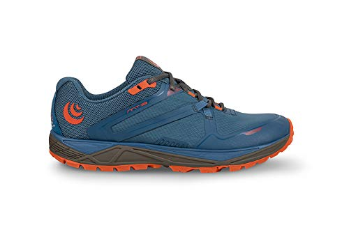 Topo Athletic Women s MT-3 Trail Running Shoe  Blue/Coral  Size 11