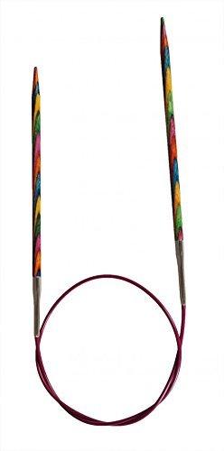 KnitPro Symfonie Holz Rundstricknadeln 150cm, Nadelstärke:4.5 mm