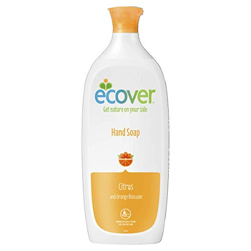 Ecover Mizu Liquid Hand Soap Citrus and Orange Blossom, 1 l