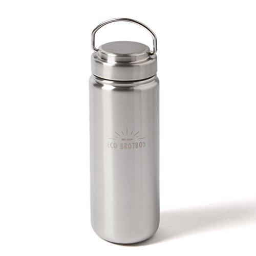 ECO Brotbox   ZEN2   0,8 L Trinkflasche aus Edelstahl