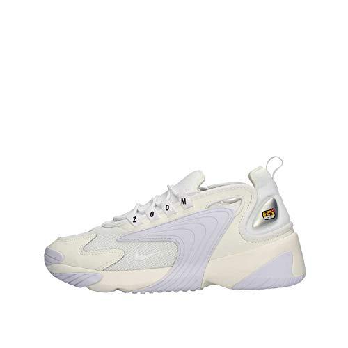 Nike Herren Zoom 2K Laufschuhe, Mehrfarbig (Sail/White/Black 100), 41 EU