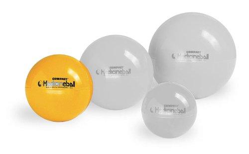 PEZZI Medizinball gelb 2 kg Therapie Gymnastik Ball Fitness Gewichtsball Sport