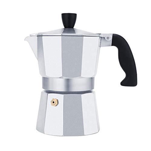 Kaffee-Vollautomaten Moka Pot Kaffeemaschine Espressomaschine Stovetop Kaffeemaschinen italienische Moka Pot Heim Hand konzentriert Drip Filter Topf Elektroherd Kaffeemaschine Kaffee Appliance Handgef