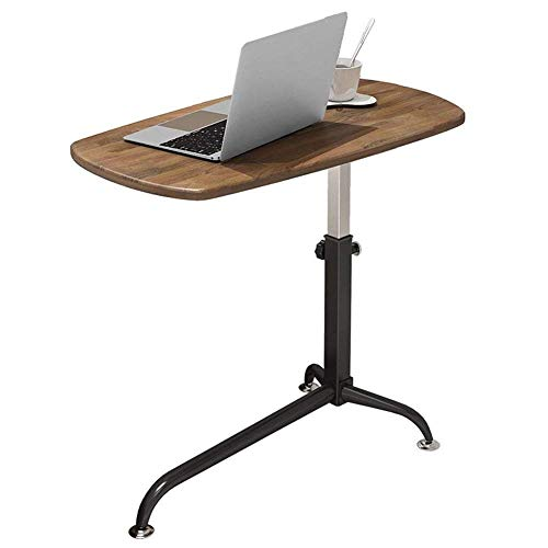 Klaptafel, salontafel, bed, bureau, laptop, bureau, nachtkastje, kan mobiel zijn, computertafel, lift, sofa, bijzettafel, kleur: licht eiken dark oak