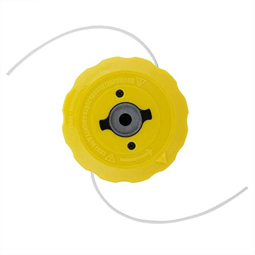 Accesorios Para Cortacéspedes Sustitución de cabezal de corte universal de reemplazo cabezal de corte de bobina desbrozadora Jardín Cortacésped Accesorios desbrozadora Accesorios para herramientas de