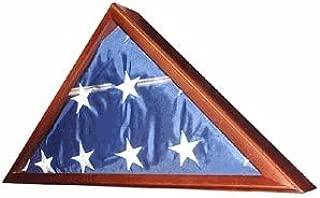 Veteran Flag Display Case -Walnut
