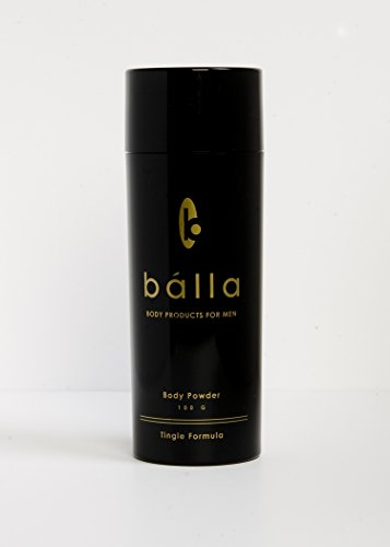 Bálla Body Powder for Men - Tingle Formula, 100g