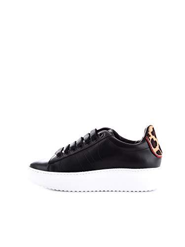 D'Acquasparta COURTHIGHW Sneakers Basse Donna Nero 36