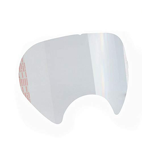 Peel Off Lens Cover for 3M 6885, 3M 6000, 3M 6700, 3M 6800, 3M 6900 Face Shield Cover(Pack of 30)