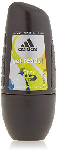Adidas Cool & Dry 48h Get Ready! For Him Anti-Perspirant Roll On Antyperspirant w kulce dla mężczyzn 50ml
