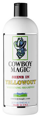 Cowboy Magic Shine in YELLOWOUT BRIGHTENS Hair Shampoo 32 Ounce