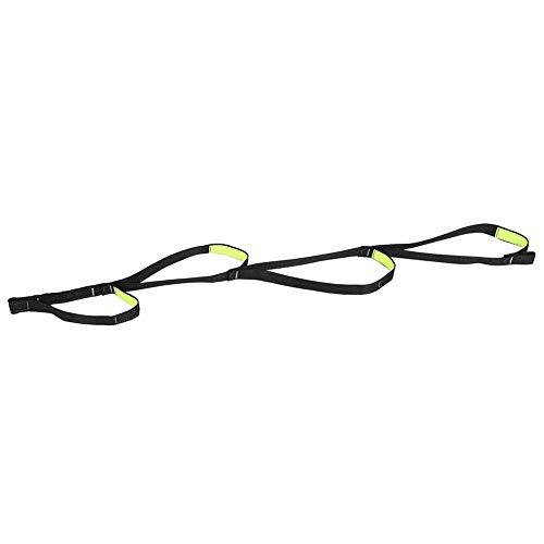 Nylon rappel ceinture plate sauvetage parachute corde alpinisme escalade pied pédale roulement de charge ceinture plate réglable
