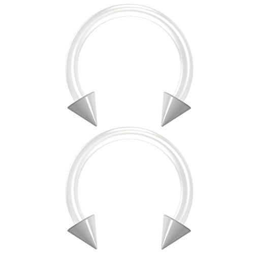 Bling Piercing BQCBHSBFX10ACRCN16G-WHI