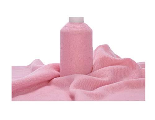 100% Cashmere Yarn, 100g Mongolian Pure Cashmere Hand Knitting Cone Yarn Luxuriously Soft Yarn for Knitting Crocheting (Pink)