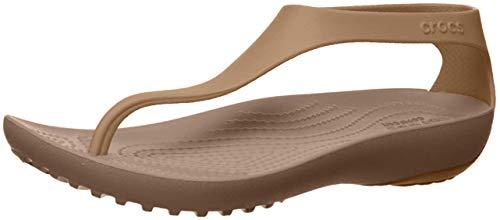 Crocs Serena Flip W, Sandalias para Mujer