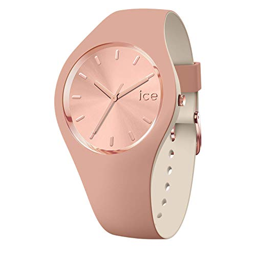 Ice-Watch - ICE duo chic Blush - Women's wristwatch with silicon strap - 016980 (Small)