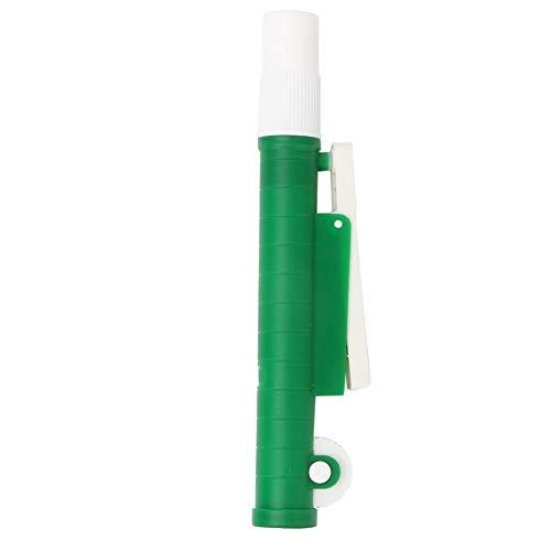 Pipet Pipet Pump, 10ml Green Pipette Pump Filler para Pipetas de Plástico y Vidrio Desechables