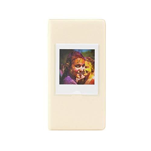 SNIIA Mini Album PU Leather 64 zakken album voor FujiFilm Instax Square SQ10 camera SP-3 printer film foto's papier ticket/memo.