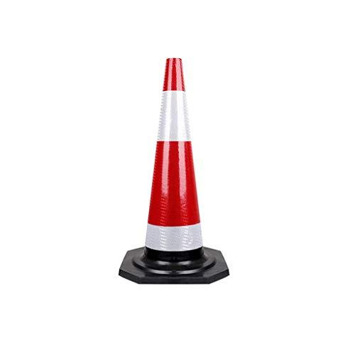 AJZXHE Conos de Seguridad Grandes Conos de Seguridad de Peso, Conos de tráfico, Conos de Advertencia, Conos de Seguridad H-90CM Conos señalizacion (Size : 2pcs)