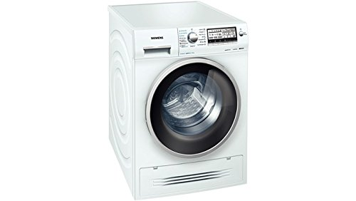 Siemens WD15H542EU Independiente Carga frontal A Blanco lavadora - Lavadora-secadora (Carga frontal, Independiente, Blanco, Izquierda, 4 kg, 1500 RPM)