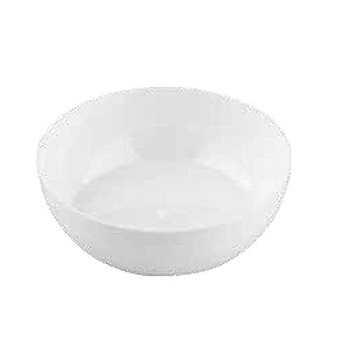 Lot de 50 petits bols blancs 80 cm, blancs, pour fête, apéritif, Happy Hour Food Dessert, gâteaux, mousse, semi-froid, largeur 7,5 cm.