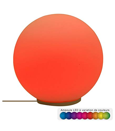 Atmosphera - Boule Verre LED Multicolor D20