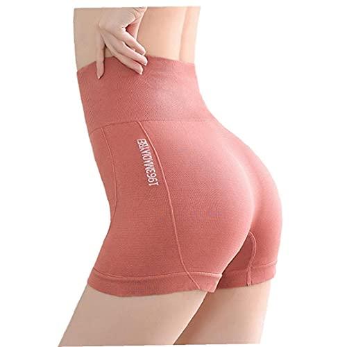 Tuimiyisou Yoga Pantalones Cortos De Cintura Alta del Entrenamiento De Seguridad Que Forma Los Pantalones para Mujer Pantalones Cortos para Correr Sin Fisuras De Control De Abdomen Pantalones Cortos