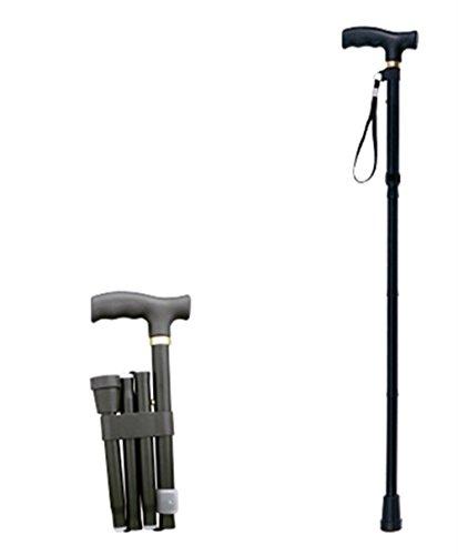 Canne Pliable et Réglable - Unisexe, Antidérapante, Légère - Meilleure Aide à la mobilité pour les personnes âgées et les personnes handicapées
