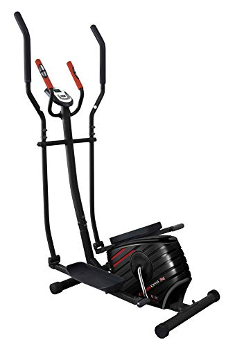 Body Sculpture BE3111G Programmable Magnetic Elliptical Cross-Trainer | 12 Month Warranty | 21 Smart Programmes | Adjustable Magnetic Resistance | Body Fat & Hand Pulse Sensors | Track Your Progress